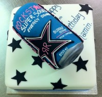 Energy Drink Can cake