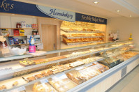 HomeBakery(Buckie) shop display