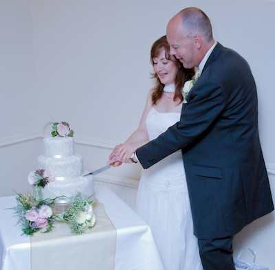 Cutting the Cake - Wedding Veil Design